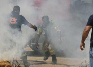 Συγκλονισμένοι οι πυροσβέστες