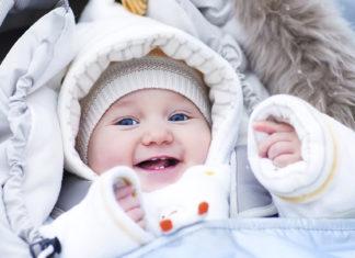 Χειμώνας προστασία μωρού