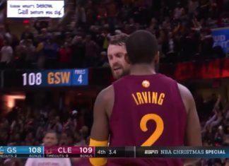NBA Warriors vs Cavaliers