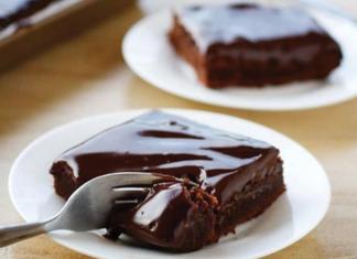 Σοκολατόπιτα συνταγή