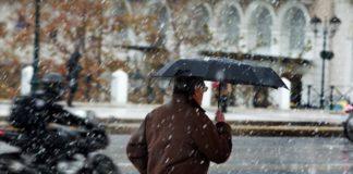 Καιρός: Βροχές, χιόνια και παγετός