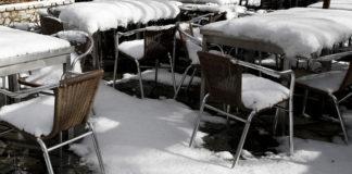 Πολικές θερμοκρασίες στο Βόλο