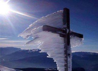 Η φωτογραφία του σταυρού