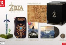 Legend of Zelda Breath of the Wild Special Master Editions