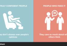 τρόποι για να ξεχωρίσετε τους ανθρώπους με αυτοπεποίθηση