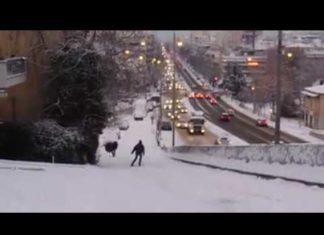 Σκι στους δρόμους