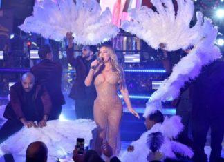 Mariah Carey εμφάνιση φιάσκο