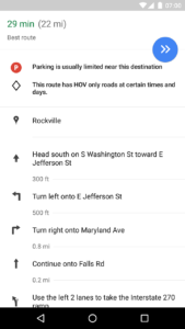 Google Maps: Θα μας δείχνει την διαθεσιμότητα σε θέσεις παρκαρίσματος!