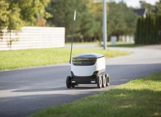 αυτόνομα ρομπότ delivery