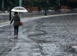 Καιρός: τοπικές βροχές, καταγίδες και χιονοπτώσεις στα ορεινά