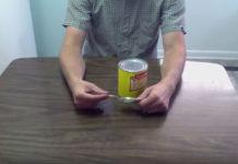 Δείτε πως να ανοίξετε μια κονσέρβα με κουτάλι