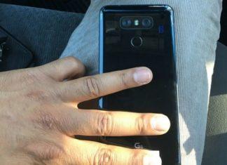 LG G6: Live φωτογραφία με γυαλιστερή πλάτη