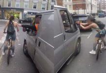 Πώς μια ποδηλάτισσα που παρενοχλείται από οδηγό, παίρνει την εκδίκηση της