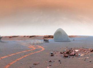 Εξαγωγή υλικών από το χώμα του Άρη για κατασκευή κατοικιών μέσω 3D printing