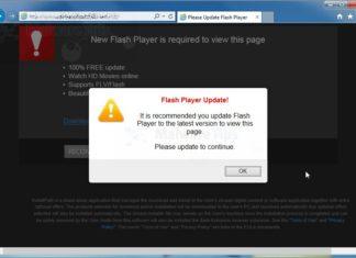 Android malware μεταμφιεσμένο ως Update του Flash Player
