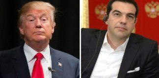 Τηλεφωνική επικοινωνία Τσίπρα – Τραμπ