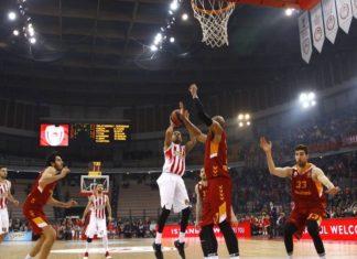 Η Γαλατασαράι «πλήγωσε» για 2η φορά τον Ολυμπιακό, 80-71 στο ΣΕΦ(BINTEO)