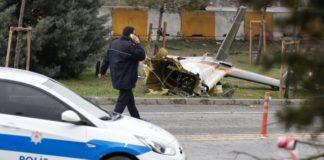 Συντριβή ελικοπτέρου σε αυτοκινητόδρομο στην Κωνσταντινούπολη - πέντε νεκροί (βίντεο)