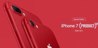 Η Apple παρουσίασε το πρώτο κόκκινο iPhone στην ιστορία της