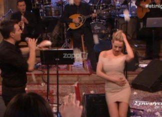H Ράνια Κωστάκη μας... σούβλισε με το τσιφτετέλι της! (video)