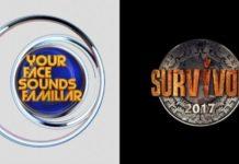 Τηλεθέαση: Your Face Sounds Familiar vs Survivor! Η πρώτη μονομαχία…