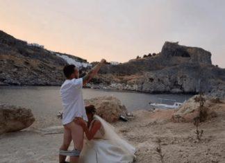 Οργή στη Ρόδο για την γαμήλια φωτογράφιση με το στοματικό σεξ που έγινε viral - Τέλος οι πολιτικοί γάμοι στο μοναστήρι