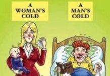 Γιατί όταν αρρωσταίνουν οι άντρες, κάνουν σαν παιδιά;