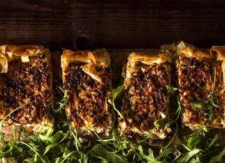 Ανοιχτή πίτα με κιμά γαλοπούλας!
