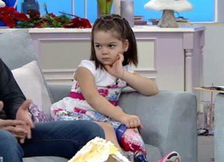 6χρονη που ακρωτηριάστηκε λόγω μηνιγγίτιδας,παραδίδει μαθήματα ζωής..