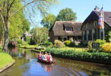 Ολλανδία: το μαγικό χωριό χωρίς δρόμους
