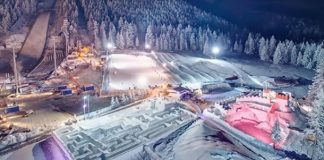 λαβύρινθος από πάγο Πολωνία
