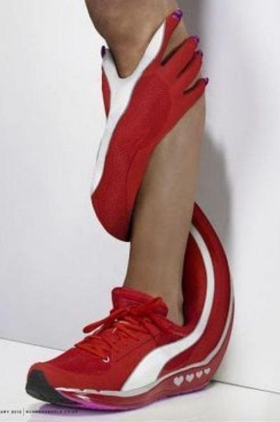 περίεργα γυναικεία αθλητικά παπούτσια
